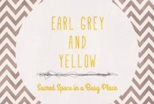Earl Grey and Yellow Posts / Blog and website on life, family, food and faith.