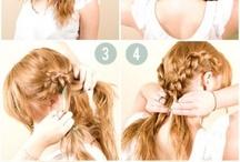 Hair style + Additional hair ideas / by Sea Gray