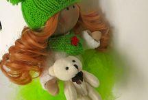 My doll / интерьерные куклы ручной работы. Handmade decor dolls .