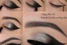 Make up cat eye