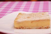 Cakes / Vanilla slice