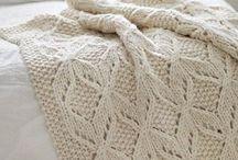Вязание - Пледы