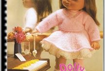 Knitted Doll Clothes Patterns Doll Daydreamer / 20 great knitted doll clothes patterns
