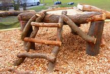 Nature playground ideas