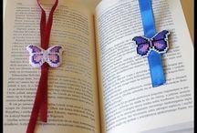 Motyle - haft krzyżykowy