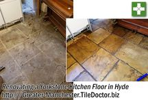 Yorkstone Tile Cleaning