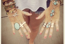 Accessorize Accordingly  / We love adding those finishing touches!