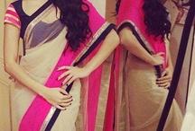 Saris, Lengas & Churidar / by Divya ahluwalia