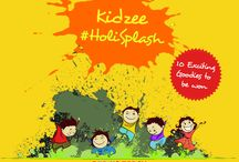 Kidzee #HoliSplash