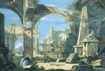 Rovine della civilizzazione Antica nei quadri e stampe di Sebastiano Ricci e Marco Ricci