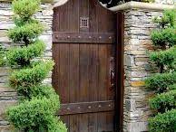 gates, walls