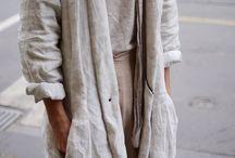 льняное пальто