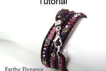 Wrap bracelet tutorials