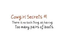Cowgirl secrets