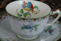 Tea Cups / #tea cups are a remembered joy  / by Mary Greenwood