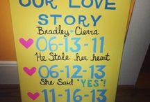 Our Handmade Wedding / 11-16-13 / by Cierra Vaught
