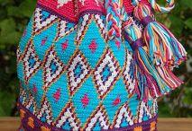 mochilas y bolsos tejidos