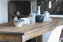 kuchyňa a stôl