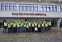 Tofaş Fabrika Gezisi / 28 Ocak 2015 TeamDoblo Yönetici ve İl Temsilcileri Fabrika Gezisi Ve Test Sürüşleri
