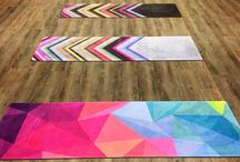Yoga Accessories and Design / Great ways to add some style to your yoga practice.