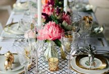 Table settings / Pictures of table settings to inspire new tablescapes and table decor.