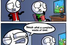 Gaming/game comics