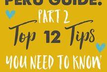 Peru tips