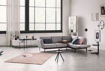 ROLF BENZ MERA / The Rolf Benz MERA single or sectional sofa is love at first sight - and at second glance too, because the graceful appearance conceals a wealth of functionality.