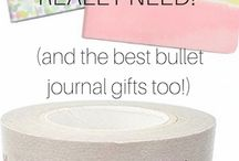 Bullet Journal Supplies / This board is all about Bullet journals supplies and tools to make a beautiful and efficient bujo. #bulletjournal #bujo