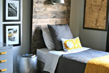 Tween Boys Bedroom / Tween Boys Bedroom. To inspire Adventure and Travel :)