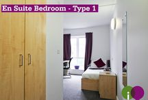 iQ Salford / At iQ Salford, you'll be just a five minute walk from the University of Salford Campus, you'll also be close to Salford City centre and only a 10 minute bus ride to Manchester. Our en-suite rooms offer both comfort and style, perfect for students.