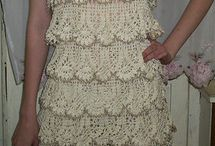 Crochet dresses & Skirts / Any Crochet dresses, Skirts & Tops / by Irvine Young