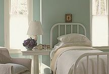 "Bedroom ""by the sea"" / Beachy type bedrooms blues/greens/sands / by Debbie Price"