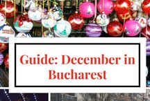 Holiday travel / A board about Christmas and New Year destinations, Christmas markets, gift guides