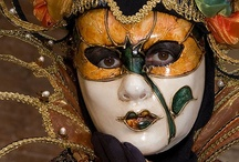 Masks, etc. / Sometimes beautiful, sometime interesting and imaginative / by Kathy Ernst