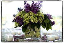 Candles & cut Flower bouquets / by Kathy Humphrey