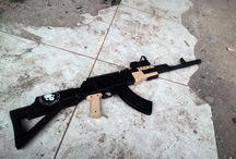 AKM-103 / this basicly ak-47 skyma (spring airsoftgun)