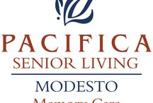 Pacifica Senior Living Modesto / Situated in California's beautiful Central Valley, Pacifica Senior Living Modest offers full-service memory care programs, providing a warm, inviting and familiar environment for residents with Alzheimer's disease and other forms of dementia. Our community focuses on programs that help individuals with memory loss to thrive while managing the issues of dementia.