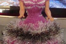 B813 Barbie/Puppen/Dolls/Knittingparadise.com