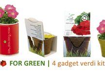 Gadgets verdi / Gadgets verdi, piante, semi.