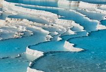 Places to go - Pamukkale, Turkey