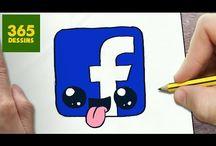 Facebook kawaii