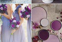 Purple/Plum/Lavender Weddings