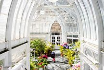 Orangeries and Pavillions / Conservatories and open rooms of special beauty