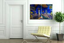 Posters et tableaux Orient Home Deco
