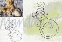 artwork of pets