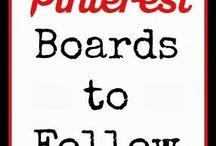 pinterest boards to follow
