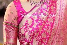 pink banarsi pairings