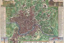 Mappe / Le mappe di Roma nella storia