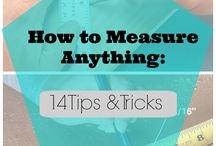 Measure it tips & DIY